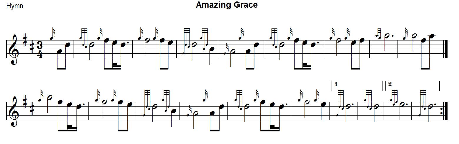gratuitement amazing grace cornemuse